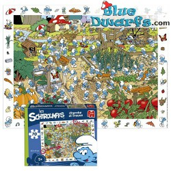 Smurf soccer puzzle 70 pieces