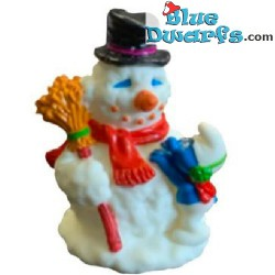 Sneeuwpop en smurf...