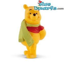 Winnie the Pooh with scarf...