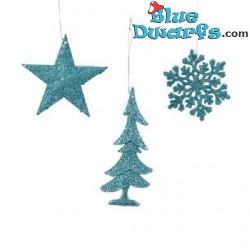 3 Christmas Hanger plastic...