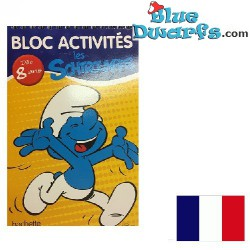 Activity book Smurf  French...