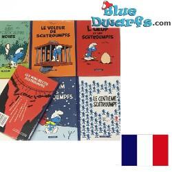 "6x Smurf comic book ""Les..."