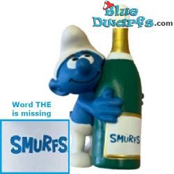 20821: Smurf met fles 2020...