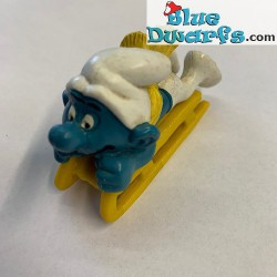 40201: Bobsled Smurf yellow...