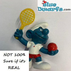 20093: Tennisplayer Smurf...
