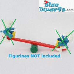 2 smurfs on seesaw (without...