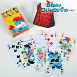 Playing Smurfs colored (54 cards)
