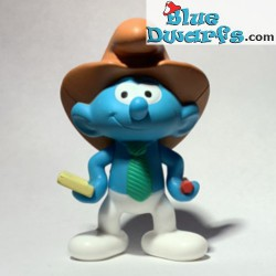 Reporter Smurf - Mc Donalds...