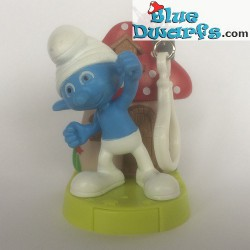 Swappz Clumsy Smurf (keyring)