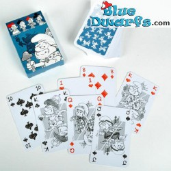 Playing Smurfs sketched (54 cards)