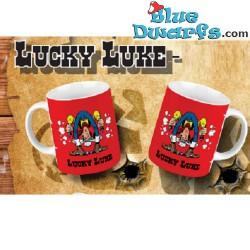 1x Lucky Luke mug: Shooting...