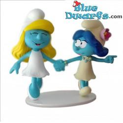 Smurfblossom & Smurfette...
