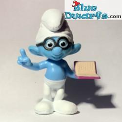 Brainy Smurf with Book (Mc...
