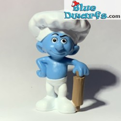 Headcook Smurf with rolling...