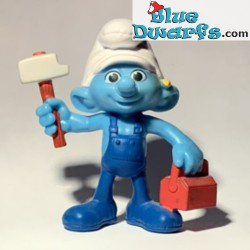 Handy smurf with hammer (Mc...