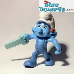 Handy smurf with saw (Mc...