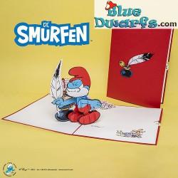 Pop Up Card: Papa Smurf...