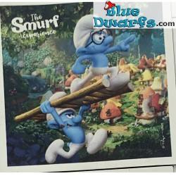 Schtroumpf  aimant Smurf...