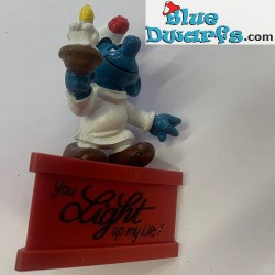 20060: Candle Smurf *You...