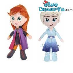 Plush: Frozen Anna and Elsa...