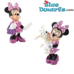 Minnie Mouse in pink...