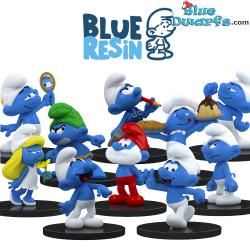 Blue Resin 2021 - I puffi -...