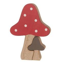 Holz Pilz 14 cm (+/- 14cm)