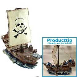 Piraten Boot Kunstharz (+/-...