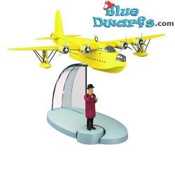 1x Flugzeug Statuette Tim...