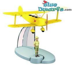 1x airplane Statue tintin...