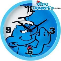 Hefty Smurf wall clock (+/-...