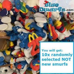 10x Smurf - Mc Donalds...
