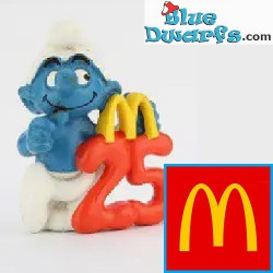 25 Anniversary Smurf (Mc...