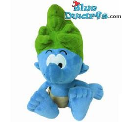Smurfen knuffel: Jungle Smurf  (+/- 20 cm)