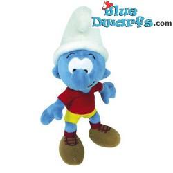 Smurf Plush: Footballer Smurf  (+/- 20 cm)