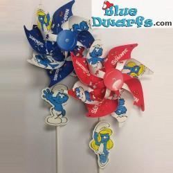 2 x windmill smurfs