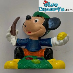 Mickey Mouse with easter...