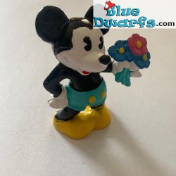 Mickey Mouse with flowers...