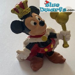 King Mickey Mouse +/- 7cm...