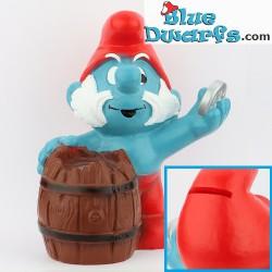 Moneybox Papa Smurf with...