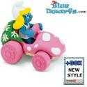 40265: Car, Smurf in
