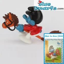 40214: Smurf on Hobby horse...