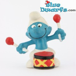 20009: Drummer Smurf (red...