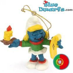 51909: Christmas Smurfette...