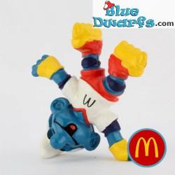 Inline Skater Smurf (Mc...