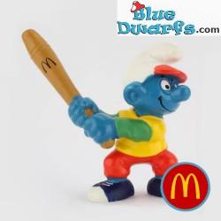 Baseballbatter Smurf (Mc...