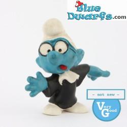 20016: Judge Smurf (black) VG