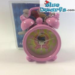 Smurfette mini clock