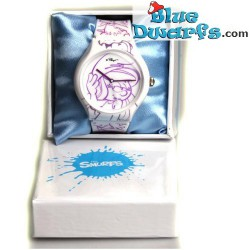 Smurfette watch *Artwatch*  White/Violet (TYPE II)