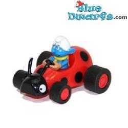 Vanity Smurf *Pull back racer*